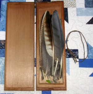 Feather Box inside